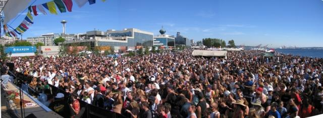 Poster, 2006, Seattle Hempfest® Crowd Shot