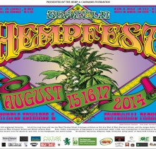 T-shirt, 2014, Seattle Hempfest® Flower